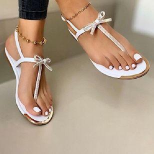 Women's Buckle Flats Slingbacks Flat Heel Sandals_1