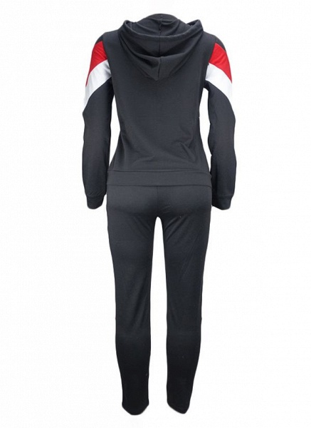 Women's Athletic Casual Sporty Polyester Fitness Clothing Suit Fitness & Yoga_3