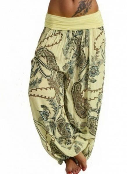 Women's Casual Polyester Yoga Pants Fitness & Yoga_2