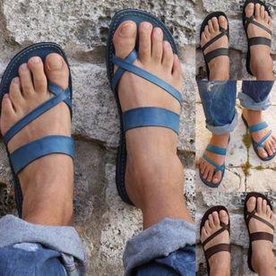 Women's Flats Toe Ring Flat Heel Sandals_5