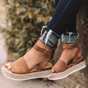 Women's Flats Cloth Flat Heel Sandals_4