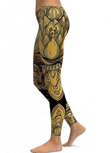 Women's Casual Polyester Yoga Bottoms Fitness & Yoga_2