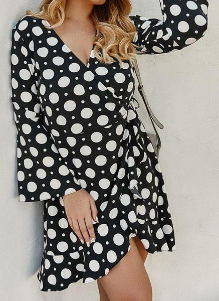 Yellow Plus Size Color Block V-Neckline Casual Maxi X-line Dress Plus Dress_1