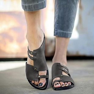 Women's Slingbacks Low Heel Sandals_1