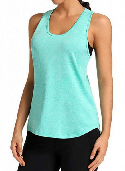 Women's Athletic Casual Polyester Yoga Vest Fitness & Yoga_7