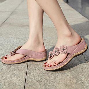 Women's Peep Toe Slingbacks Wedge Heel Sandals_3