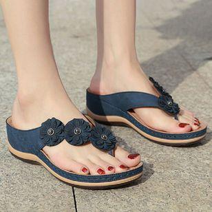 Women's Peep Toe Slingbacks Wedge Heel Sandals_5