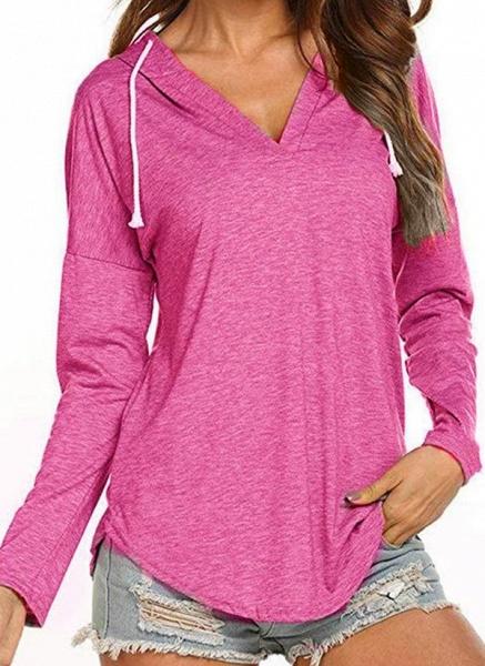 Women's Basic Polyester Fitness Top Fitness & Yoga_4