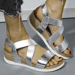 Women's Modern Wedge Heel Sandals_2