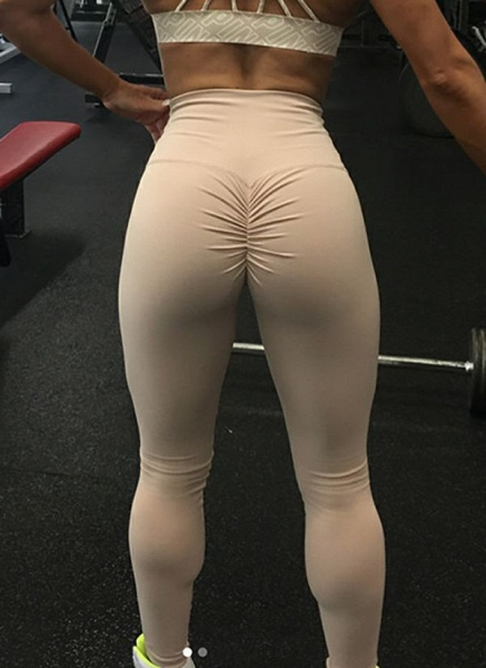 Women's Athletic Casual Sexy Sporty Cotton Blends Yoga Pants Fitness & Yoga_1