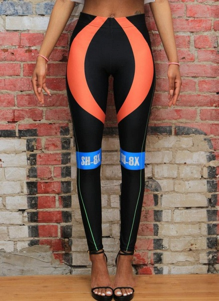 Women's Athletic Sporty Fashion Polyester Fitness Clothing Suit Fitness & Yoga_3