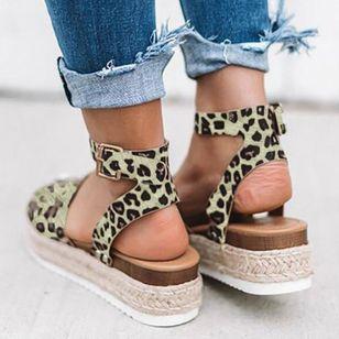 Women's Flats Cloth Flat Heel Sandals_1