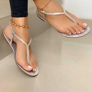 Women's Flip-Flops Flat Heel Sandals_1