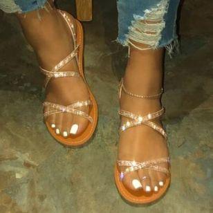 Women's Flats Slingbacks Flat Heel Sandals_2