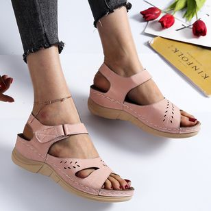 Women's Flats Slingbacks Flat Heel Sandals Platforms_3