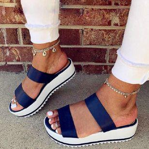 Women's Slingbacks Nubuck Wedge Heel Sandals_4