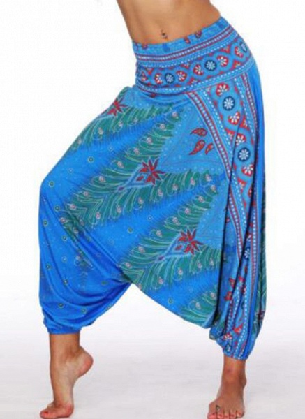 Women's Athletic Casual Sporty Polyester Yoga Bottoms Fitness & Yoga_6