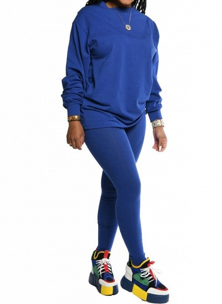 Women's Athletic Casual Sporty Polyester Fitness Clothing Suit Fitness & Yoga_9