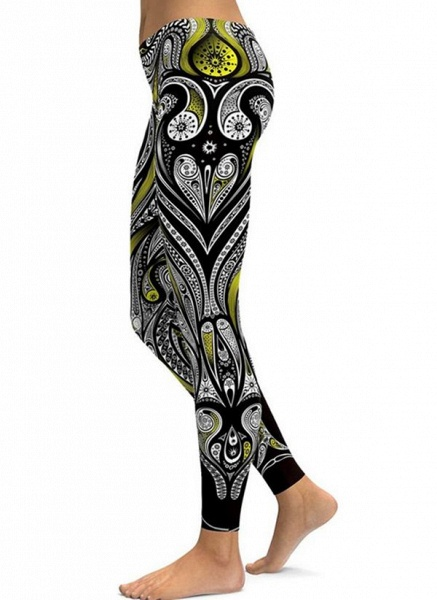 Women's Sporty Polyester Yoga Bottoms Fitness & Yoga