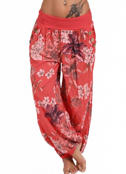 Women's Casual Chiffon Yoga Pants Fitness & Yoga_2