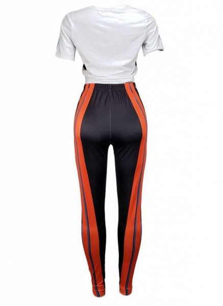 Women's Athletic Sporty Fashion Polyester Fitness Clothing Suit Fitness & Yoga_6