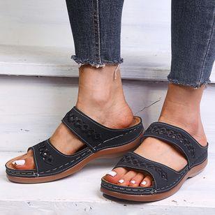 Women's Flats Flat Heel Sandals Platforms_5