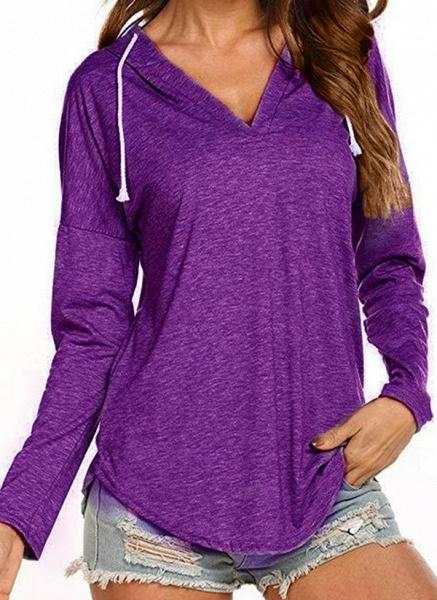 Women's Basic Polyester Fitness Top Fitness & Yoga_5
