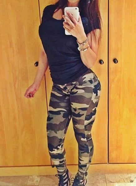 Women's Athletic Casual Fashion Polyester Yoga Leggings Fitness & Yoga_1