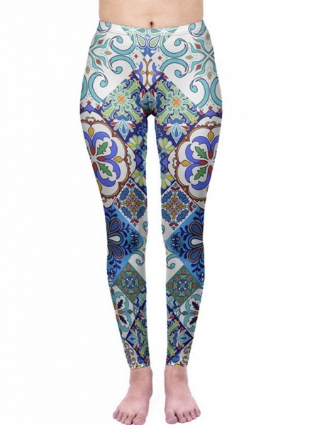 Women's Athletic Casual Sporty Polyester Yoga Pants Fitness & Yoga_3