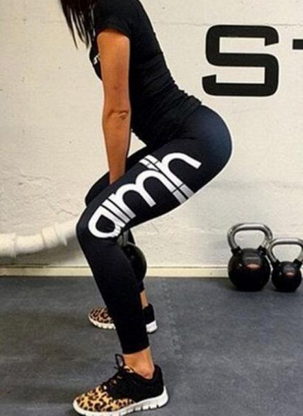Women's Athletic Sporty Fashion Polyester Yoga Bottoms Fitness & Yoga_8