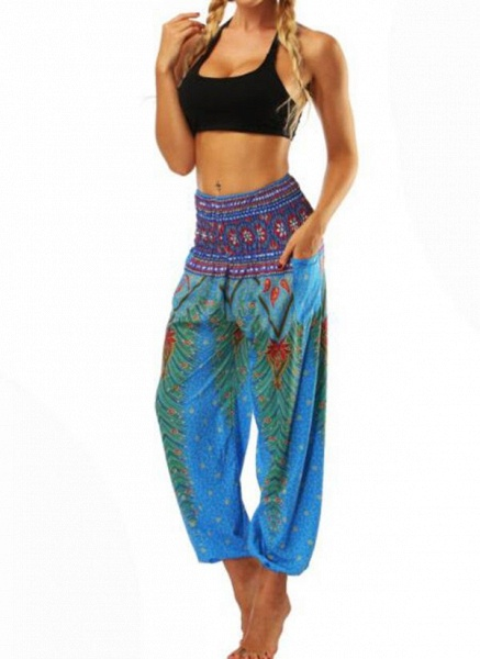 Women's Athletic Casual Sporty Polyester Yoga Bottoms Fitness & Yoga_3
