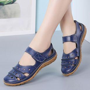Women's Hollow-out Flats Flat Heel Sandals_1