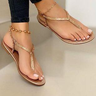 Women's Flip-Flops Flat Heel Sandals_2