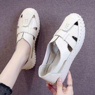 Women's Hollow-out Flats Flat Heel Sandals Flats_3
