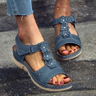 Women's Slingbacks Flat Heel Sandals Platforms_1