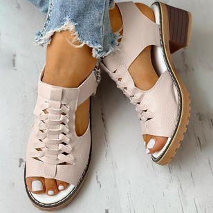 Women's Slingbacks Heels Chunky Heel Sandals_3