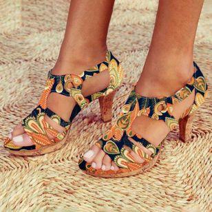 Women's Heels Flat Heel Sandals_5