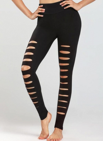 Women's Athletic Casual Sporty Polyester Fitness Pants Fitness & Yoga_3