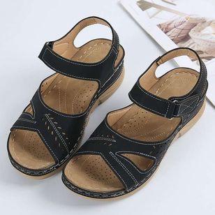 Women's Slingbacks Wedge Heel Sandals_5