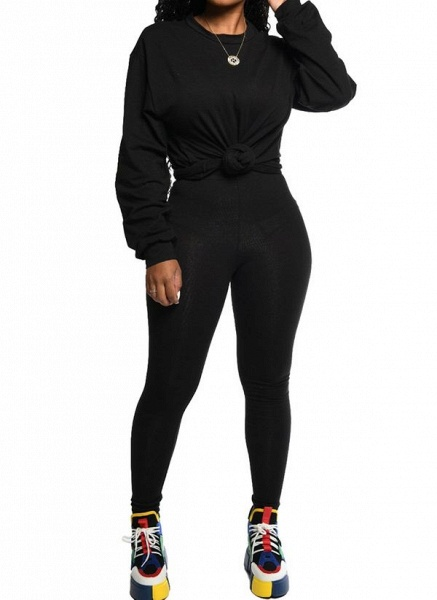 Women's Athletic Casual Sporty Polyester Fitness Clothing Suit Fitness & Yoga_7