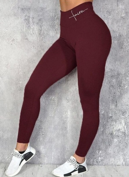 Women's Athletic Sexy Acrylic Fitness Pants Fitness & Yoga_3