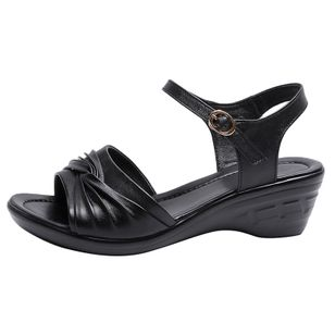 Women's Buckle Slingbacks Low Heel Sandals_2