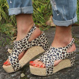 Women's Slingbacks Wedge Heel Sandals Platforms_3