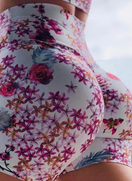 Women's Sexy Polyester Yoga Bottoms Fitness & Yoga_1