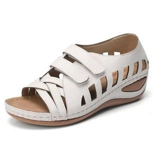 Women's Hollow-out Wedge Heel Sandals_6