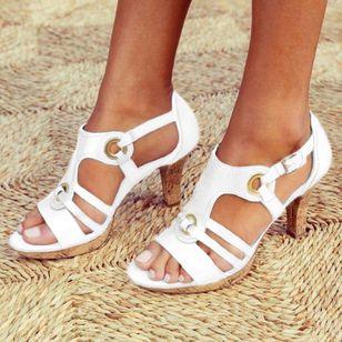 Women's Heels Flat Heel Sandals_7