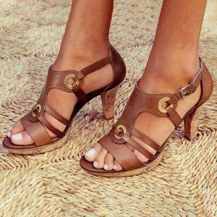 Women's Heels Flat Heel Sandals_2
