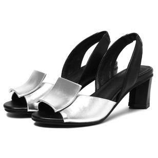 Women's Slingbacks Chunky Heel Sandals_2