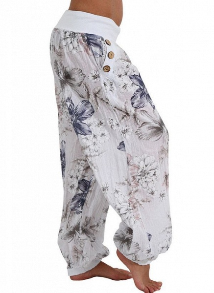 Women's Casual Chiffon Yoga Pants Fitness & Yoga_7
