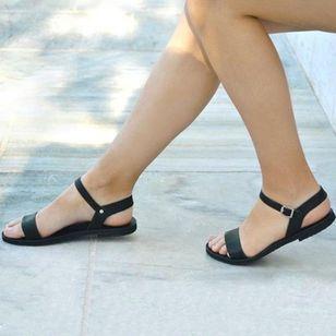 Women's Buckle Slingbacks Flat Heel Sandals_2
